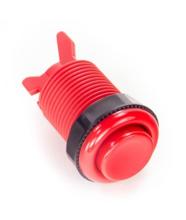 Bouton arcade rouge 28mm...
