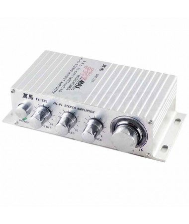 Stereo versterker 2.0