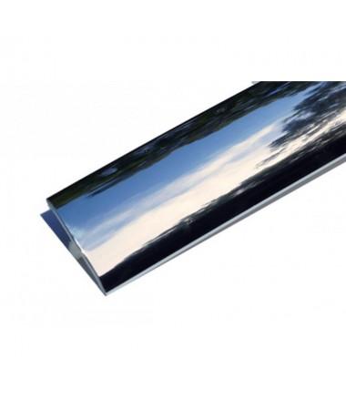 T-Molding 19 mm - chromed 1m