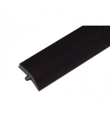 T-Molding 19 mm - schwarz 1m