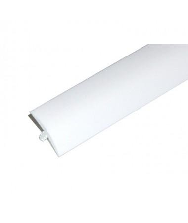 T-Molding 19 mm - blanc 1m