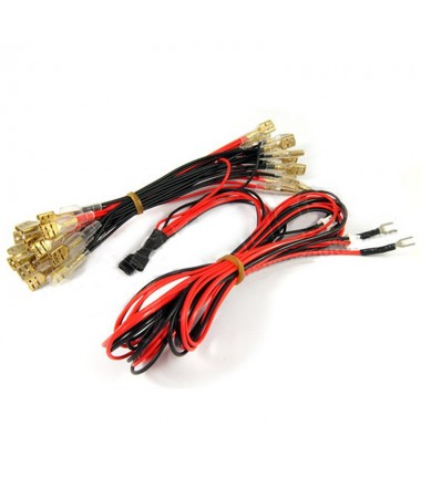 Bedrading voor LED-knoppen...