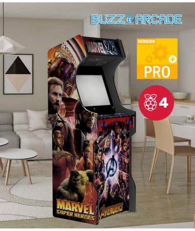 Borne arcade EVO RPI4