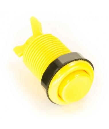 Bouton arcade jaune 28mm...