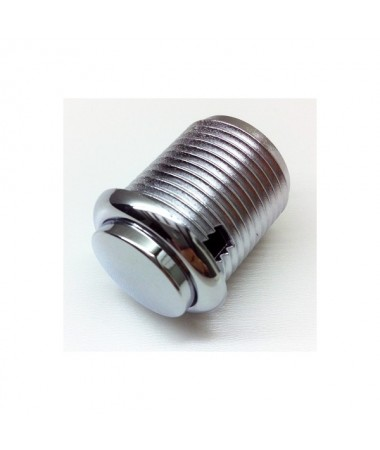 24 mm Chroom knop